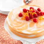 Orange Swirled Cheesecake