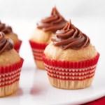 Peanut Butter Blossom Mini Cakes
