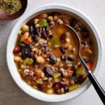 Slow-Cooker Southwestern Bean Soup