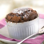 Individual Chocolate Souffle Cakes