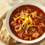Farro and Vegetable Chicken Chili