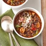 Italian Wild Rice Soup