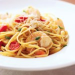 Spicy Jalapeno-Shrimp Pasta