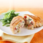 Mediterranean-Stuffed Chicken