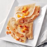 Peaches 'n Cream Crepes
