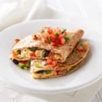 Southwest Breakfast Quesadilla