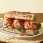 Saucy Meatball Sandwiches