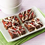 Strawberry Fudge Brownies