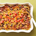 Two-Bean Enchilada Casserole