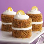 Carrot Cupcakes with Fluffy Cream Cheese Frosting