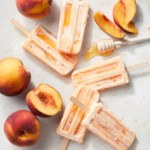 Peaches and Cream Ice Pops