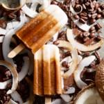 Iced Coconut Latte Pops