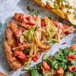 Fennel & Fontina Grilled Pizza