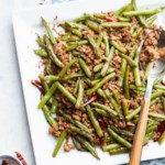 Spicy Pork & Green Bean Stir-Fry