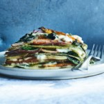Spring Vegetable Lasagna with Fresh Spinach Pasta