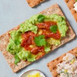 Avocado & Salsa Cracker
