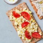 Cherry Tomato & Egg Cracker