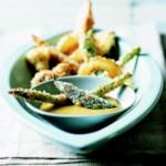 Baked Vegetable Tempura
