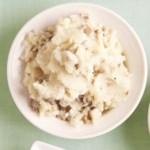 Three-Cheese Whipped Potatoes