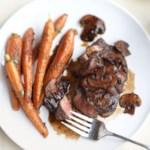 Wine-Glazed Steak