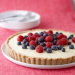 Banana-Berry Cream Tart