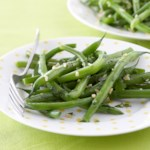 Green Beans with Cilantro