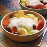 Fresh Fruit with Creamy Sauce