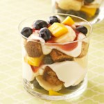 Cinnamon Toast and Fruit Breakfast Parfaits