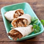 Honey BBQ Shredded Pork Wraps