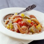 Jambalaya-Style Chicken and Shrimp