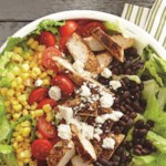 BBQ Chicken and Roasted Corn Salad
