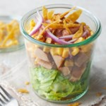 Barbecue Chopped Pork Salad