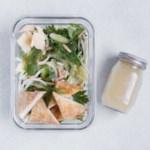 Green Machine Salad with Baked Tofu