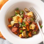 Sweet Potato and Turkey Sausage Hash
