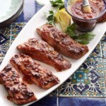 Ancho-Maple Barbecue Plank-Smoked Salmon