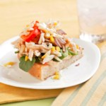 Chicken-Spinach Focaccia Sandwich