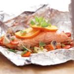 Salmon-Vegetable Bake
