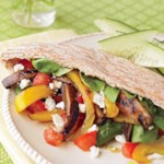 Grilled Vegetable Pitas