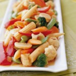 Ginger Vegetable Stir-Fry