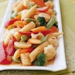 Ginger Vegetable Stir-Fry