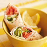 Smoked Salmon Breakfast Wraps