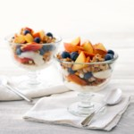 Peach-Blueberry Parfaits
