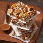 Salted Caramel Pretzel-Oat Bars