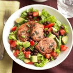 Lemon-Sage Pork Salad with Red Hot Pepper Vinaigrette