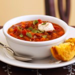 Quick Vegetarian Chili