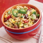 Corn and Bean Quinoa Pilaf