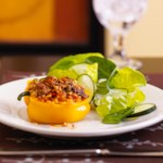 Stuffed Yellow Peppers
