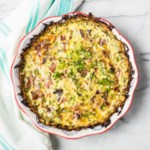 Quiche Lorraine with Zucchini Crust