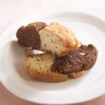 Two-Tone Biscotti