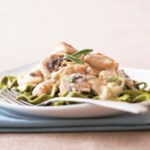 Sage and Cream Turkey Fettuccine